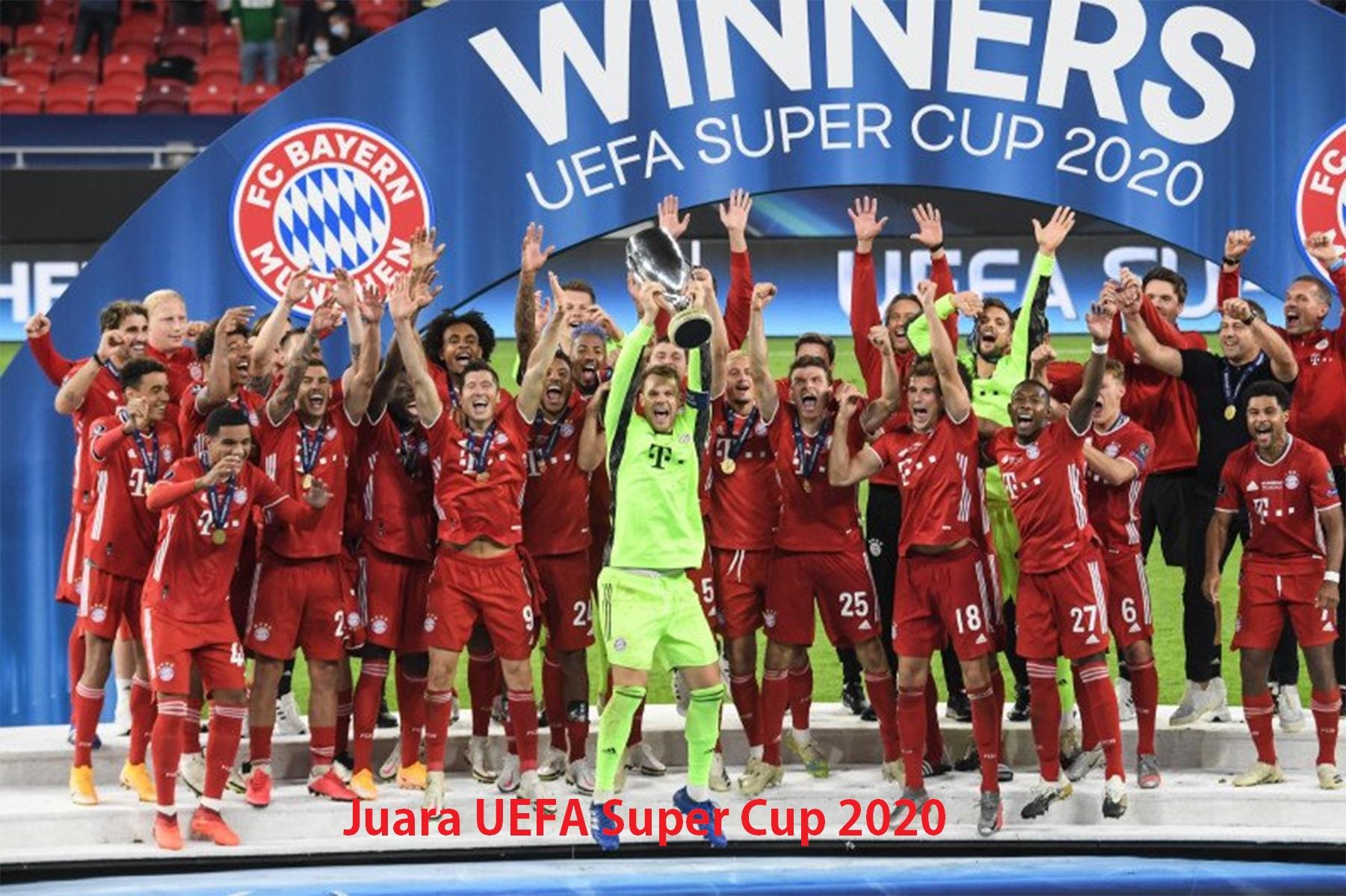 Juara UEFA Super Cup 2020